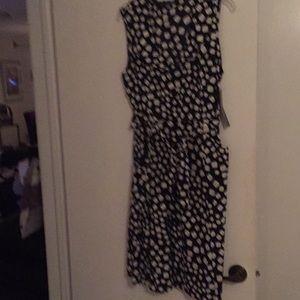 Mlle Gabrielle B&W dress